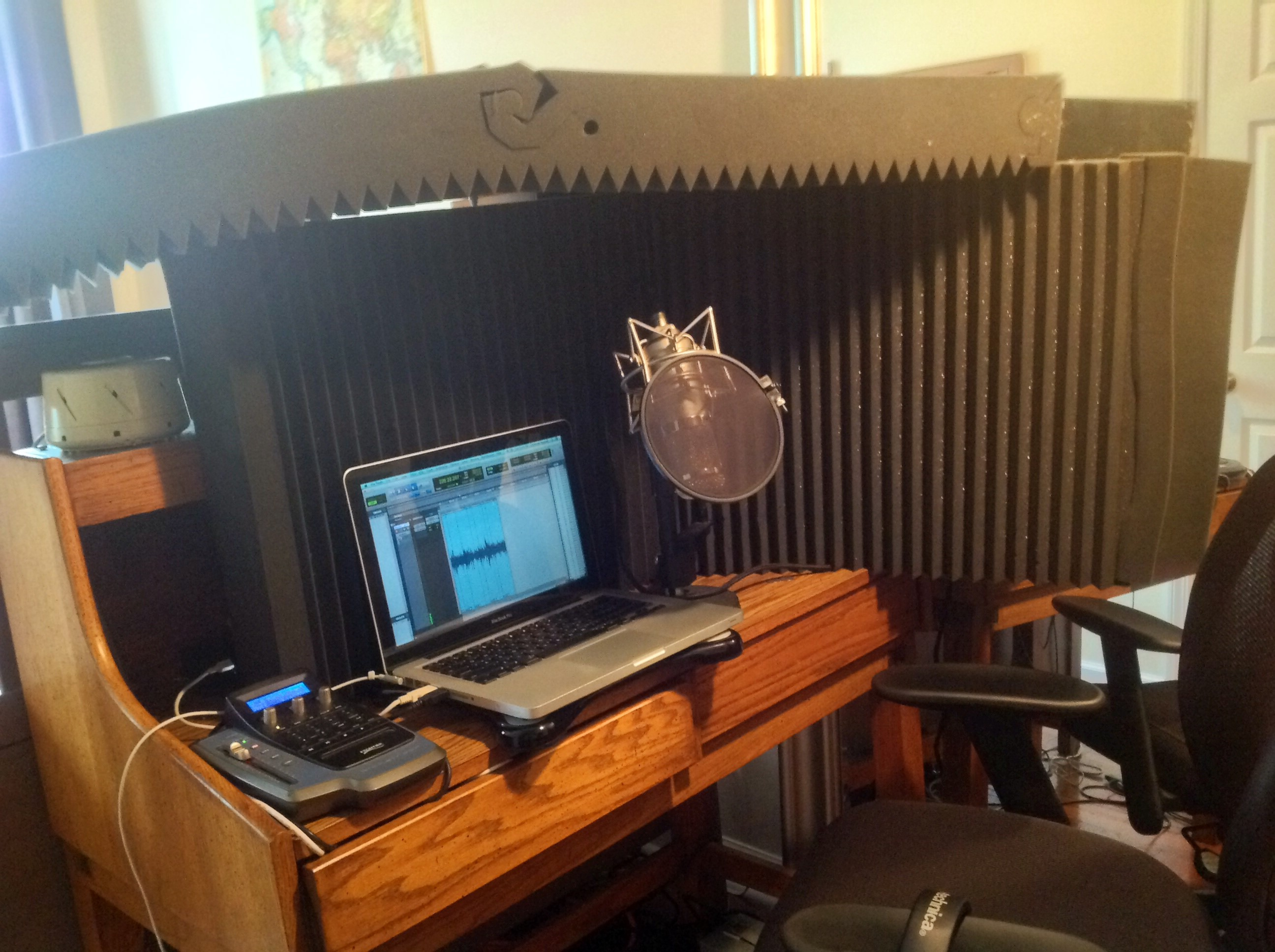 Awesome Home Studio Audiobook Creation Exchange Blog Acx Largest Home Design Picture Inspirations Pitcheantrous