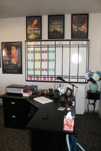Bethany's writing room