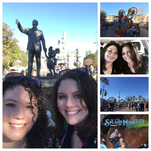 Bethany and friends at Disneyland